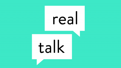 Logo for the Real Talk app