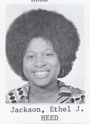 Ethel Jean Jackson enrolled in the Gillings School in 1972 to pursue a Master of Public Health degree in health education.