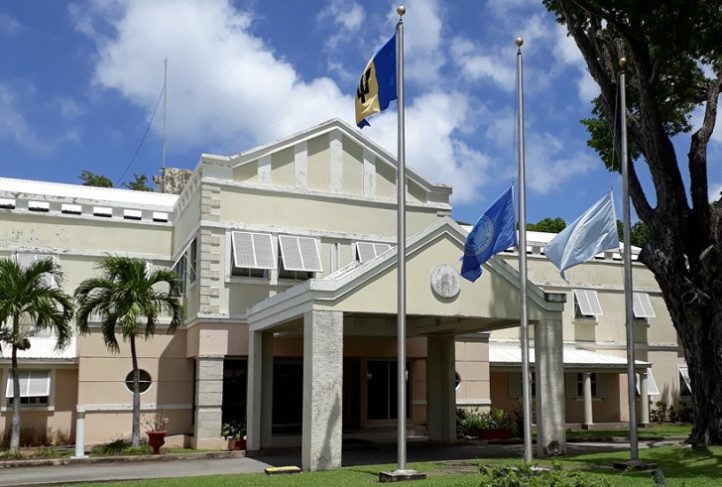 Pan American Health Organization offices in Barbados