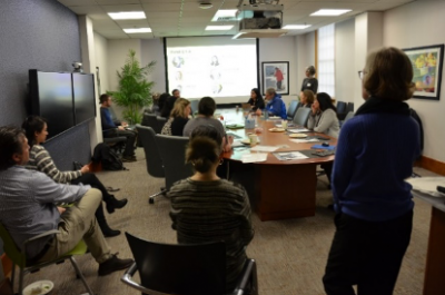 Participants during Unleash Your Innovation Lunch and Learn.