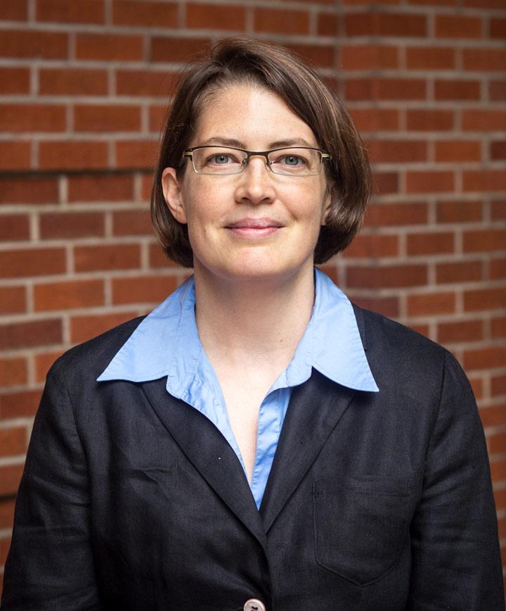 Portrait of HPM Associate Professor Karen Volmar, JD