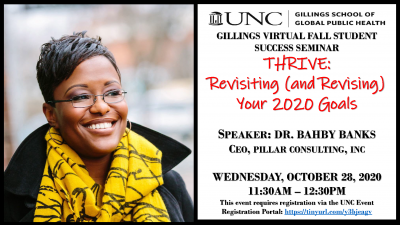 Thrive: Revisiting (and Revising) Your 2020 Goals with Dr. Bahby Banks