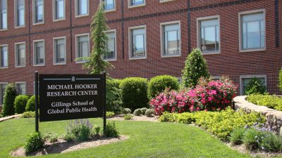 Michael Hooker Research Center sign