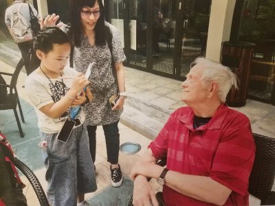 Montague interviewed in China