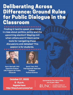 Deliberating Across Difference: Ground Rules for Public Dialogue in the Classroom