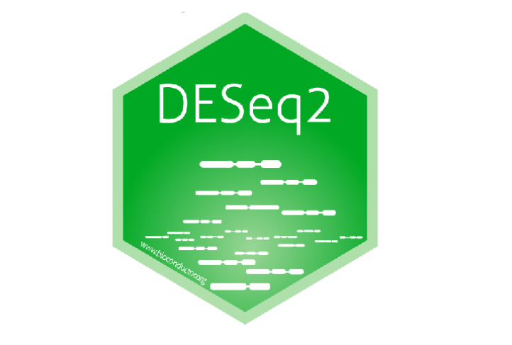 This is the logo for DESeq2.