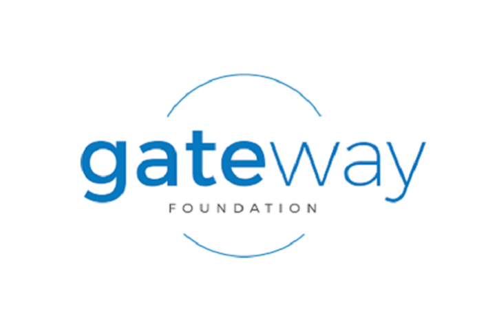 This is the logo for the Gateway Foundation.