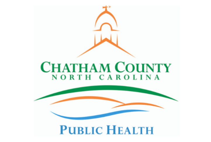 Logo of the Chatham County NC public health department