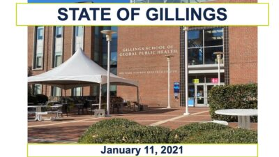 State of Gillings cover sheet