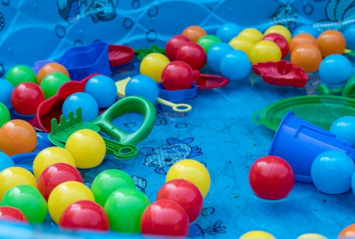 Phthalates are commonly found in plastic children's toys.
