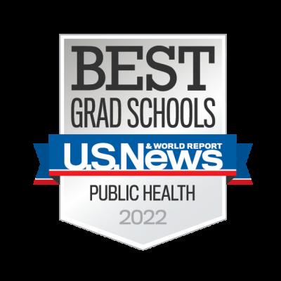 U.S. News Best Grad Schools Public Health 2022 Badge