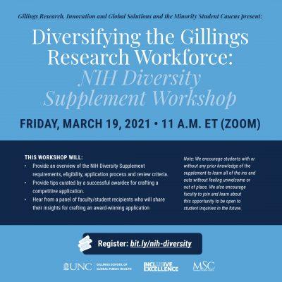 NIH Diversity Supplement Workshop