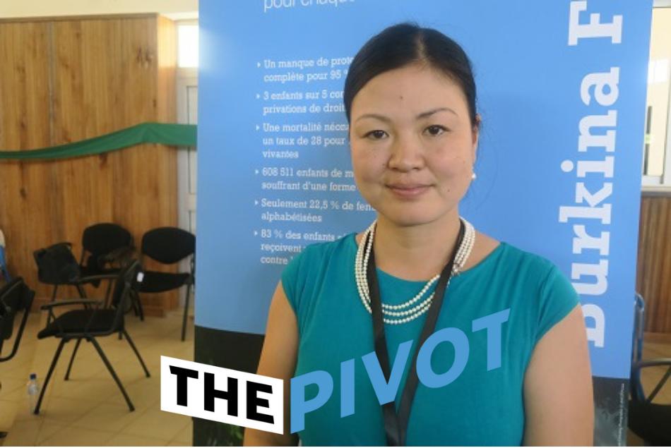 Rinko Kinoshita speaks with The Pivot.