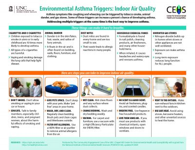 Environmental Asthma Triggers: Indoor Air Quality