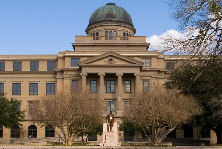 Texas A&M academic building