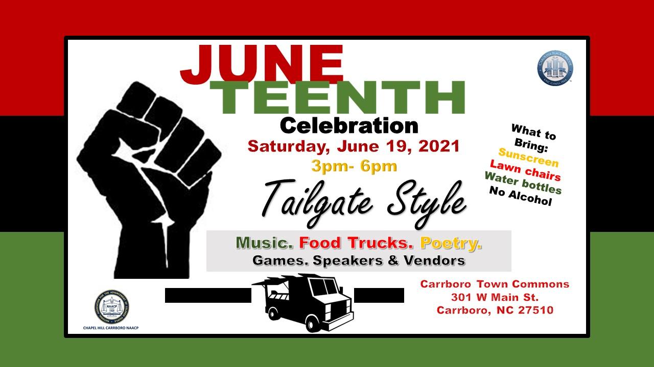 Flyer for Juneteenth Celebration