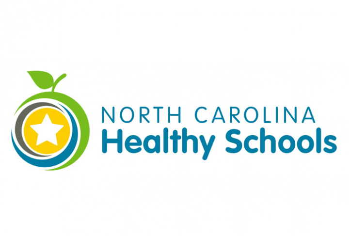 This is the logo for the North Carolina Healthy Schools initiative.