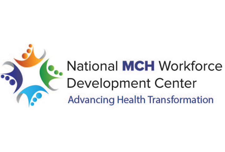 This is the logo for the National MCH Workforce Development Center.