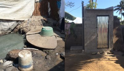 Existing and improved latrines used in Maputo communities.