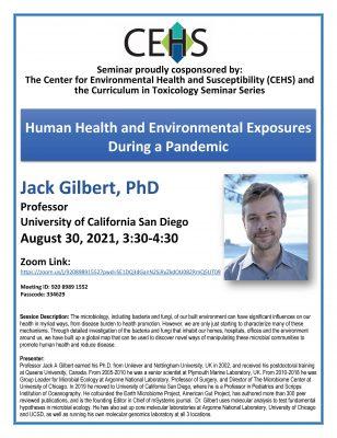 Jack Gilbert event flyer