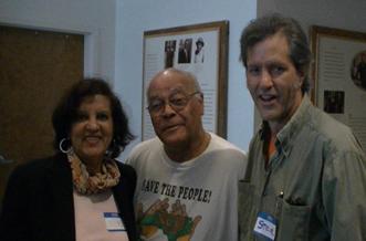 Vilma Santana with Gary Grant and Steve Wing