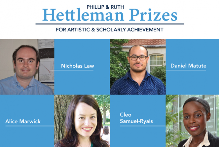 These are the winners of the 2021 Hettleman Prize.
