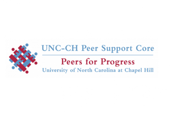 This is the UNC Peer Support Core logo.
