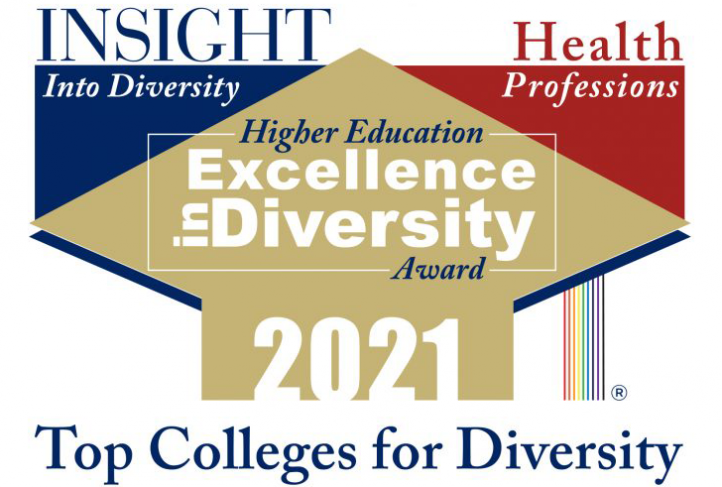 The 2021 Health Professions Higher Education Excellence in Diversity Award